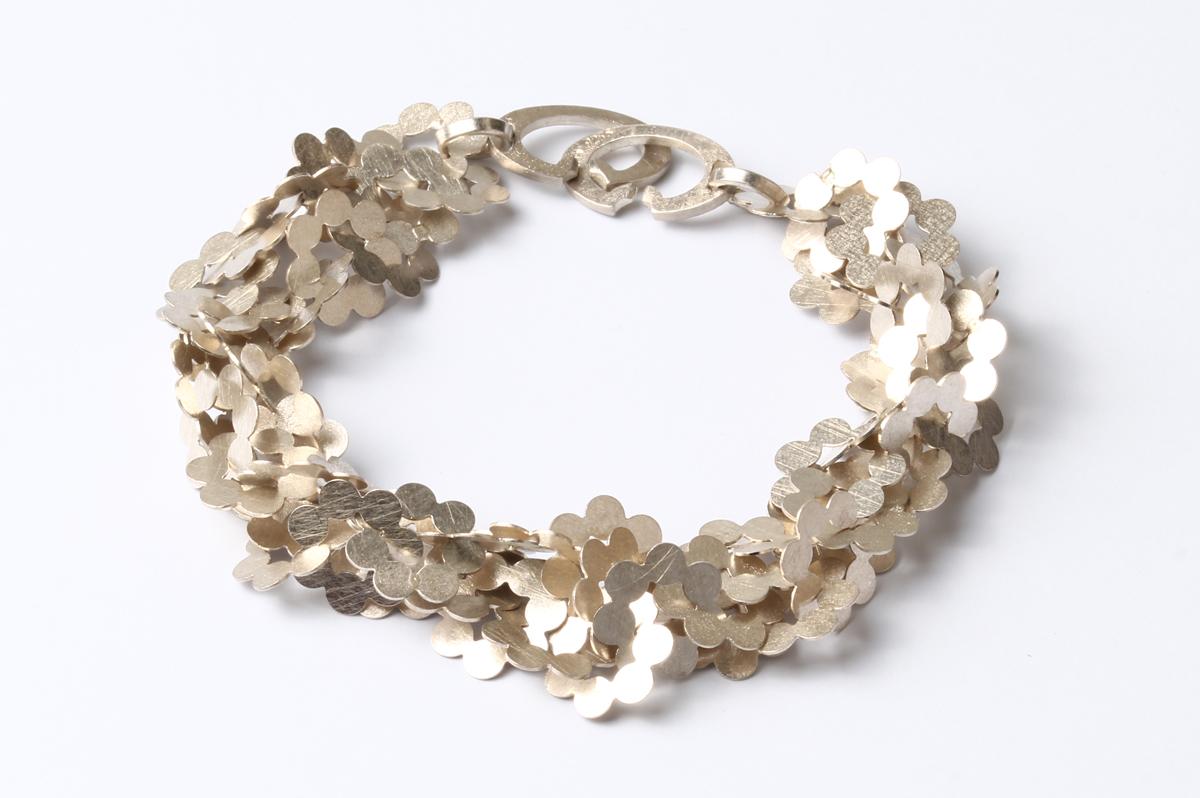 Arek Wolski, Armband, Silber