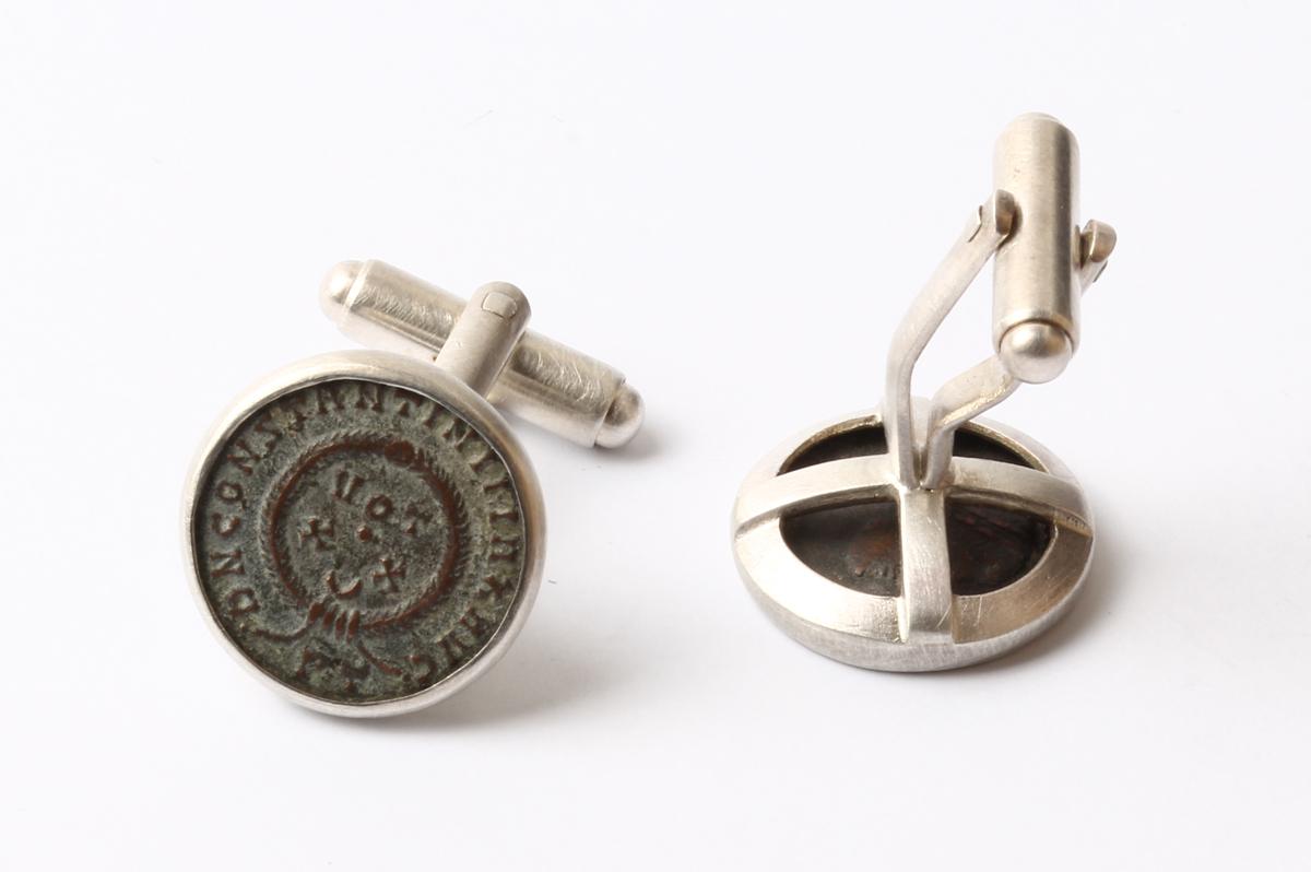 Lucas Küpper, Manschettenknöpfe, Münzen Silber