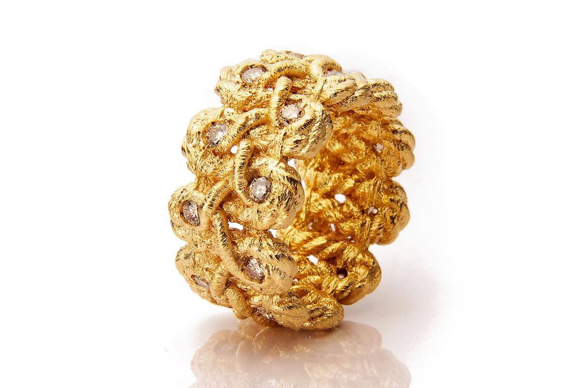 Brigite Adolph, Tosca 750 Gelbgold, Brillanten